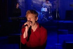 Spoon on Letterman